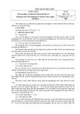 TIÊU CHUẨN NHÀ NƯỚC 2671 – 78:Nước uống Phương pháp xác định hàm lượng chất hữu cơ