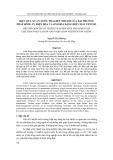 Báo cáo:  HIỆU QUẢ XỬ LÝ NƯỚC THẢI DỆT NHUỘM CỦA HAI PHƯƠNG PHÁP ĐÔNG TỤ ĐIỆN HÓA VÀ OXI HÓA BẰNG HỢP CHẤT FENTON