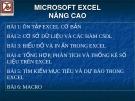 MICROSOFT EXCEL NÂNG CAO