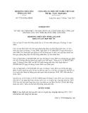Nghị quyết số 77/2012/NQ-HĐND