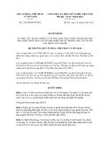 Quyết định số 2746/QĐ-BVHTTDL
