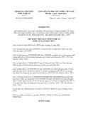 Nghị quyết số 49/2012/NQ-HĐND