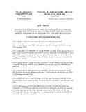 Quyết định số 3074/QĐ-UBND
