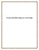 11 mẹo tìm kiếm nâng cao với Google