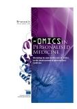 - OMICS IN PERSONALISED MEDICINE
