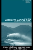 Water for Agriculture