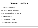 CSE Faculty - Chapter 3: STACK (part a)