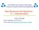 Data Structures and Algorithms – C++ Implementation