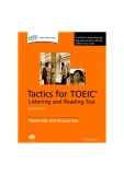 Tactics for toeic reading and writing tests english