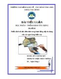 Thẩm định tài sản đảm bảo trong hoạt động cấp tín dụng của các ngân hàng hiện nay