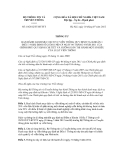 Thông tư số 10/2012/TT-BTTTT