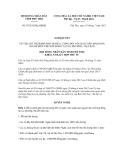 Nghị quyết số  07/2012/NQ-HĐND