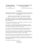 Quyết định số 1792/QĐ-BNN-HTQT