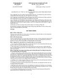 Thông tư số 07/2012/TT-BTNMT