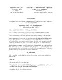 Nghị quyết số 276/2012/NQ-HĐND