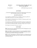Quyết định số  601/QĐ-BNV