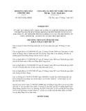 Nghị quyết số 06/2012/NQ-HĐND