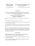 Nghị quyết số 47/2012/NQ-HĐND