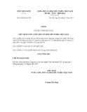 Lệnh số 15/2012/L-CTN