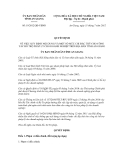 Quyết định số 19/2012/QĐ-UBND