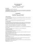 Tiêu chuẩn Quốc gia TCVN 4530:2011