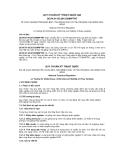 QCVN 01-95:2012/BNNPTNT