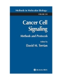 Methods in Molecular BiologyTM VOLUME 218 Cancer Cell Signaling Methods and Protocols
