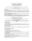 QCVN 01-96:2012/BNNPTNT