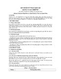 QCVN 01–51:2011/BNNPTNT