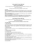 QCVN 01-94:2012/BNNPTNT