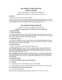 QCVN 05: 2012/BTC