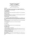 QCVN 01 -73: 2011/BNNPTNT
