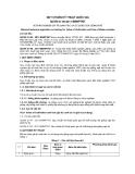 QCVN 01-56:2011/BNNPTNT