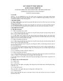 QCVN 01-80:2011/BNNPTNT