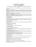 QCVN 01-70 : 2011/BNNPTNT