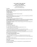 QCVN 01–76:2011/BNNPTNT