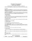 QCVN 01-55:2011/BNNPTNT