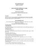 QCVN 8-1:2011/BYT