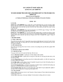 QCVN 01-67: 2011/BNNPTNT