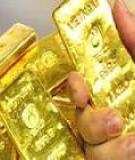 Giá vàng biến động phụ thuộc vào một nhóm người