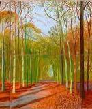 MỘT BỨC TRANH LỚN HƠN của David Hockney: To hơn, tươi hơn, nhưng chẳng nói lên điều gì đặc biệt