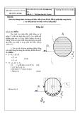 Đáp án Kỹ thuật thủy khí-Đề 1