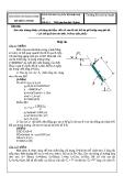 Đề thi Kỹ thuật thủy khí-Đề 4