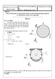 Đề thi Kỹ thuật thủy khí-Đề 3