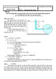 Đề thi kết thúc học phần: Kỹ thuật thuỷ khí  Đề số: 2