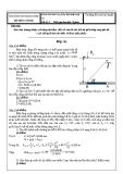 Đáp án đề thi kết thúc học phần: Kỹ thuật thuỷ khí  Đề số: 2