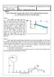 Đề thi kết thúc học phần: Kỹ thuật thuỷ khí  Đề số: 4