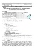 Đáp án đề thi kết thúc học phần: Kỹ thuật thuỷ khí  Đề số: 3