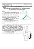 Đề thi kết thúc học phần: Kỹ thuật thuỷ khí  Đề số: 38
