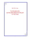 Đề Tài: Xu thế phát triển của báo  phát thanh  trên thế giới và Việt Nam